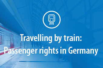 Traveling by train: Passenger rights in Germany
