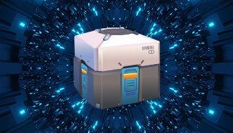 Lootbox in einem Videospiel.